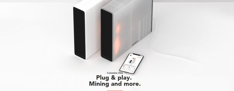 Coinmine One Promotional Image